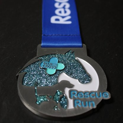 Blue Cross Rescue Run - Medal